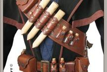 Leatherworking ideas - witch hunter