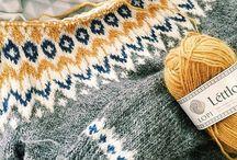 Strikk / Inspirasjon til nye strikkeprosjekter