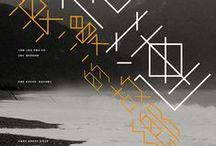 Asian Graphics / 印刷美术设计 / 漢字文化