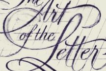 Calligraphie - Typographie