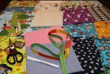 Crafting / Hauptsächlich Nähen und Stricken, aber auch Papier- und sonstige Basteleien.