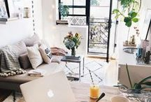 Home decor / Home and office decor inspo for chic girls.