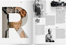 Magazine design / Magazine design inspiration