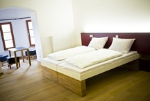 """Design Hostels / """"Jugendherbergen"""" (hostels) are known as cheap accommodations for backpackers, but in Germany (Bayern, Bavaria) more and more families and other travel groups discover stylish hostels as the place to spend a holiday. Online Booking: http://m.jugendherberge.de"""