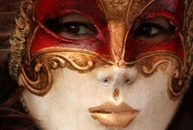 ~Masquerade~ / The mystery of the masquerade has always held our global attention. I want to go to Venice, to Brazil, to the romantic places during Carnival...anything can happen!
