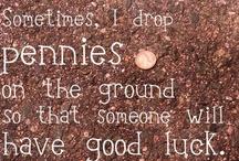 pennies / by Lynda Catherine
