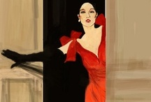 """~Fashion~Illustrated~ / I love fashion illustration...it is uniquely charming as an art in and of itself. Really great fashion illustration breaks the """"illustration""""boundary and stands alone as a pleasing unique work."""