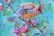 ~Watercolor Paintings~ / Water colors !