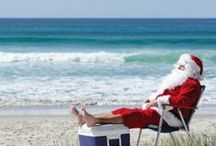 South African Christmas / Christmas in South Africa, sunny Christmas, Southern Hemisphere Christmas.