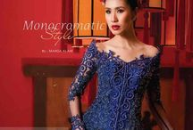 ~Fashion~Indonesia~Kebaya~ / The Kebaya is the National dress of Indonesia. This is a collection of both vintage and traditional Kebaya, as well as quite modern and Haute Couture examples of a style marked by it's attention to following the curve of the feminine form.