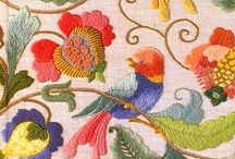 ~Embroidery/Needle Arts~2~ / Examples from every period and country.