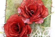 ~DIY Flowers~Paper~ / DIY's & Inspirational photos. Pin freely!