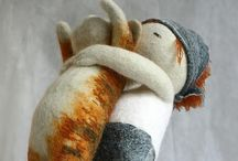 ~Needle Felted Art~ / Related boards: ~Felt Craft~Sewn~, ~Flowers~Felt & Fabric~~, and several more on Felt Birds, Dogs, Christmas ornaments, etc. Pin all you want.
