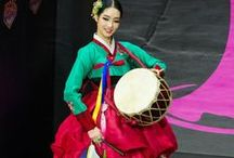 ~Fashion~Korea~Hanbok~ / The national dress of South Korea, modern and vintage, as well as wedding fashions.
