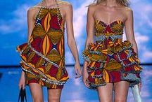 ~Fashion~Africa~ / Sumptuously decorated prints in fantastically fun Couture and pret a porter alike. Magnificent! / by Tammy Maria Settles