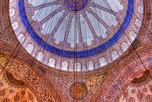 ~Art of Islam~The Mosque~ / Amazing tile art and calligraphy gracing the interiors of Mosques throughout the world. View many more exterior views on ~Paces of Worship~Thank you!