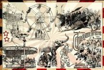 Vintage French Circus / A design flavour