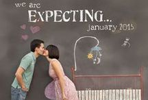 Pregnancy announcement | Annonce de grossesse / Share your pregnancy news in a fun and quirky way with our favourite pregnancy announcement and gender reveal ideas.
