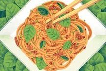 Illustrations - Food & Drinks
