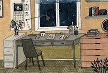 Illustrations - Rooms & Furniture
