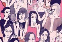 Illustrations - People
