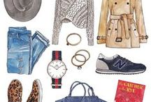 Illustrations - Clothes, Shoes & Bags