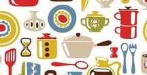 Illustrations - Porcelain & Kitchenstuff