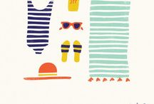 Illustrations - Summer season