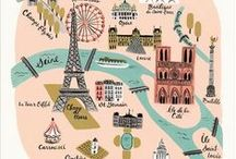 Illustrations - Countries and Cities