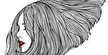 Illustrations - Hair