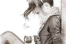 dibujos / Imagenes bonitas para dibujar, en grupo.