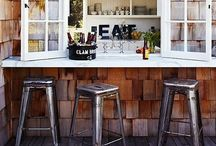 Outdoor Bars and Counter tops / Bars and counter tops / by Graham Fuller