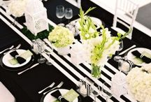 BLACK AND WHITE - CHIQUE - MODERN - WEDDING