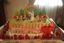 WeddingCake / 新横浜アットホームスタイルHANZOYA ウエディングケーキ集。楽しく打合せしながらつくっています。