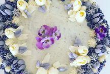 Kager / Jeg elsker at bage. Så på min opslagstavle, vil der være billeder af mine kager.