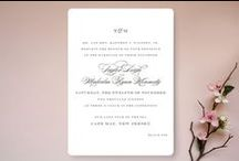 Classic Wedding Invitations from Minted for Kara / For K