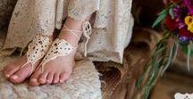 bohemian Hochzeitsdeko - bohemian wedding / Ideen für eine Boho Hochzeitsdekoration