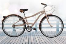 Venue / A smooth and simple bike featuring sleek neutrals. Ride comfortably and turn heads on a Venue Cruiser.