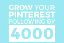 Social Media | Pinterest / Social media Pinterest tips, strategies and ideas to help creative entrepreneurs and small business owners gain followers and grow their business on Pinterest.