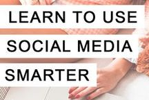 Social Media / Tips, strategies and ideas to help creative entrepreneurs and small business owners gain followers and market their business through social media.