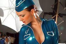 ✿⊱ Fly High Club ⊱✿ / Sexy Stewardess Kostuums