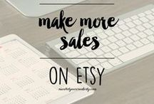 Business | Selling Online / Tips, tutorials, and ideas for making money online by selling creative digital and physical products through Etsy and other online market places.