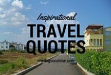 "Travel Quotes / ""We Travel Not To Escape Life, But For Life Not To Escape Us."""