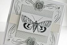 black & whit cards / handmade cards