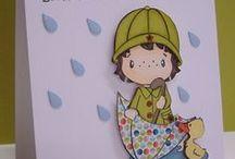 Umbrella / handmade cards