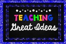 Teaching - Great Ideas / This board has great ideas about anything and everything related to teaching. Find free and paid resources from Teachers pay Teachers.   Collaborators: Please remember to pin more ideas and freebies than products. Keep a ratio of 3 ideas/blog posts to 1 product. Limit paid products to 3 per day. Thank you!