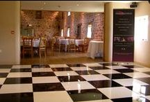 Black and White Dance Floor / Sound Solutions Dj, Black and White Acrylic Dance Floor makes a great focal point at any Wedding or Private Event