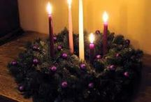 Advent Wreaths / Ideas to inspire you to make or purchase an Advent wreath for your home.