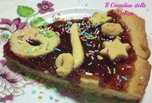 Crostate / Le crostate sono torte a base di pasta frolla, ideali per una sana colazione ed una golosa merenda.