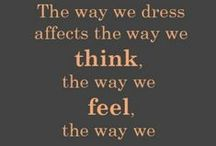 Quotes to Dress By